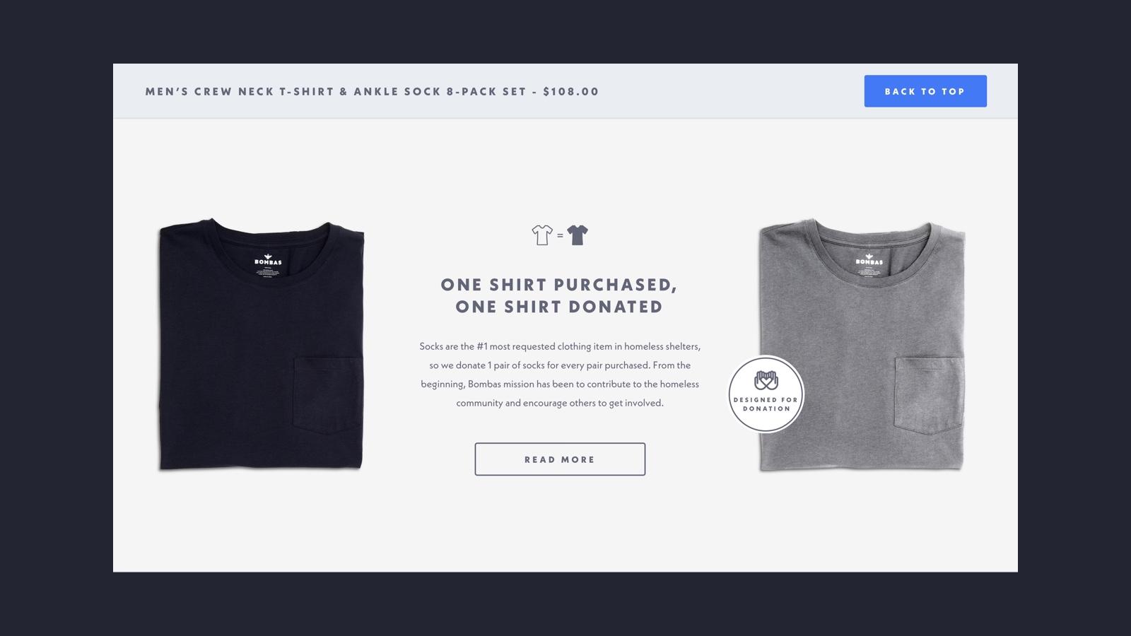 Bombas-Donation Module