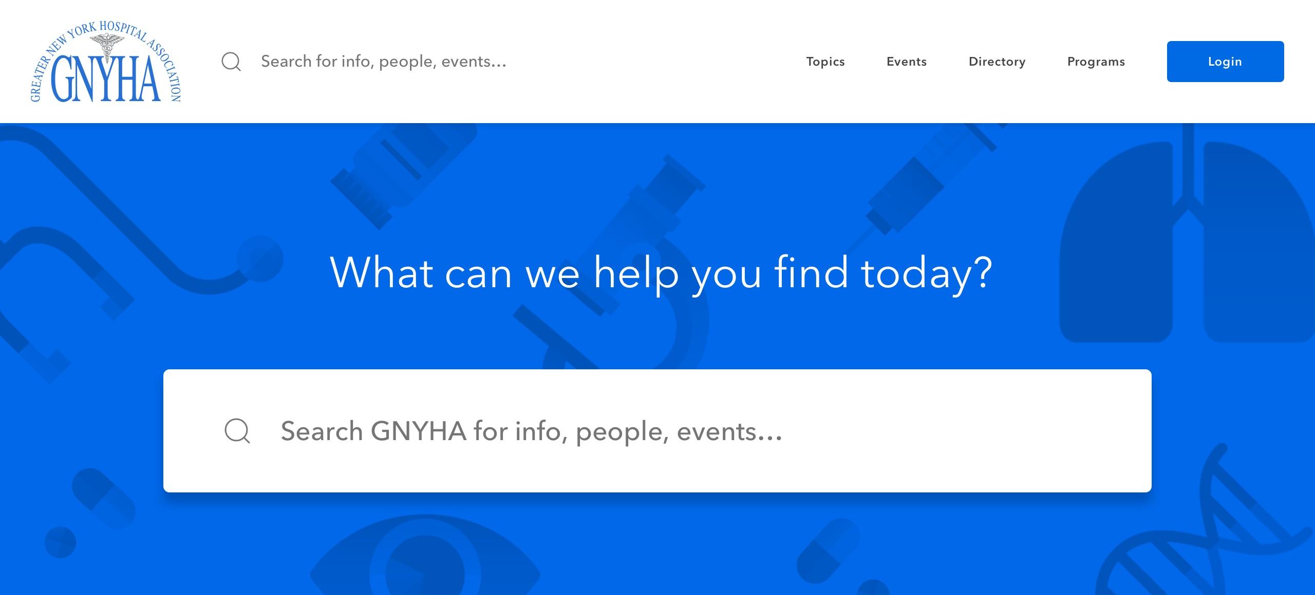 GNYHA Search
